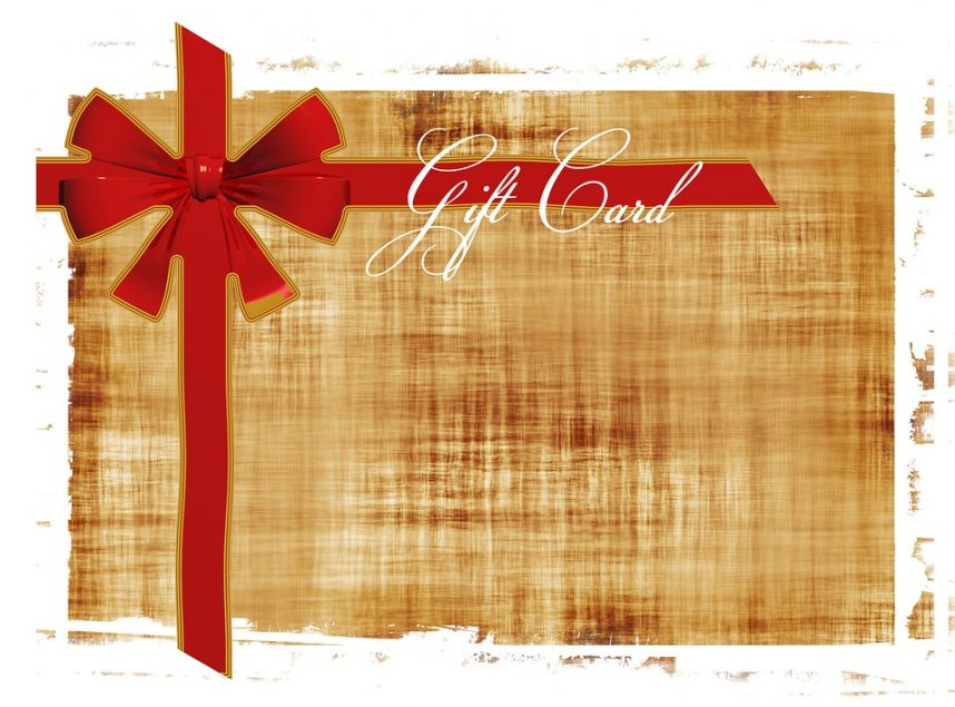 How to use gift certificates to promote your business?