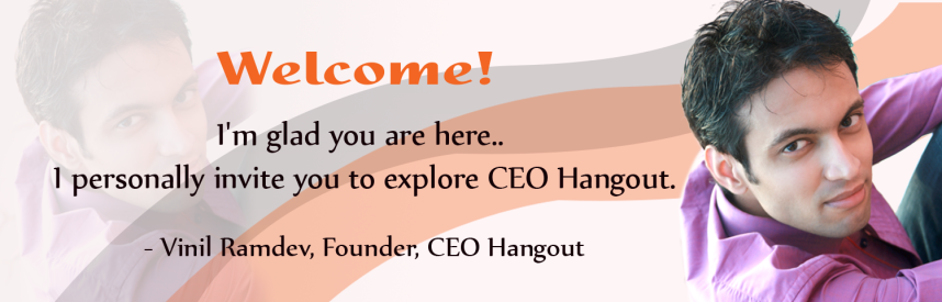 Become a member of CEO Hangout