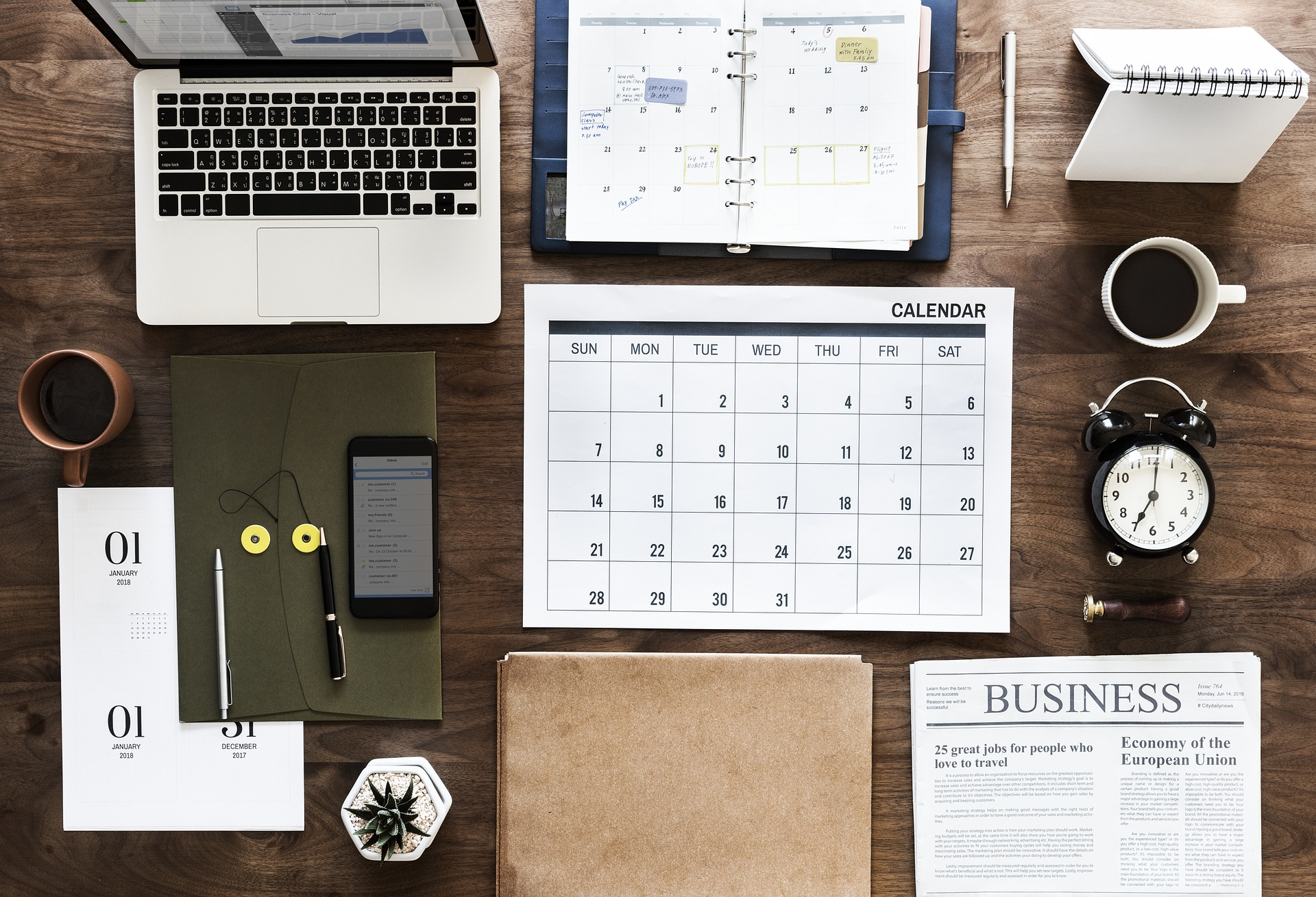Organizing tips for business