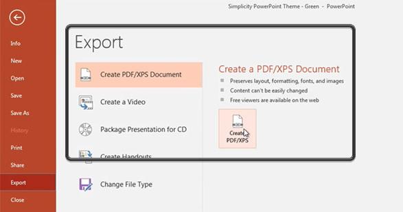 PDF XPS