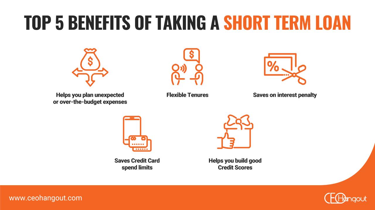 benefits of short term loan