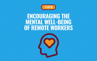 How to Encourage Mental Well-Being While Working Remotely